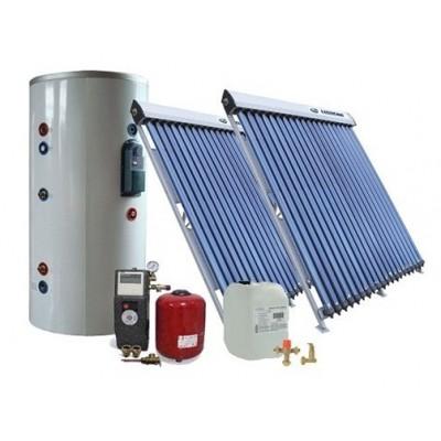 Солнечная сплит-система для отопления и ГВС помещений на 500 л