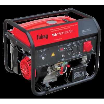 FUBAG BS 6600 DA ES, бензиновые электростанции FUBAG серии BS