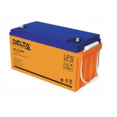 HRL12-650W (Delta) AGM аккумулятор 12В; 150 Ач