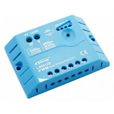 EPsolar  LS0512E (PWM, 5A, 12В) Контроллер заряда для СБ: 10 - 70 Вт