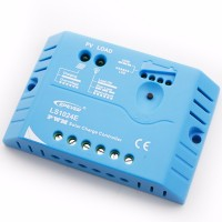 EPsolar  LS1024E (PWM, 10A, 12/24В) Контроллер заряда для СБ: 10 - 270 Вт