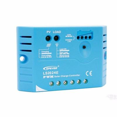 EPsolar  LS2024E (PWM, 20A, 12/24В) Контроллер заряда для СБ: 30 - 540 Вт