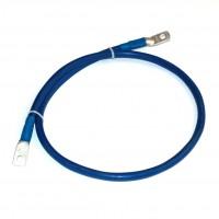 Перемычка аккумуляторная 1.0м,  35мм2, (синий аллюр)