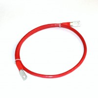 Перемычка аккумуляторная 1,0м,  50мм2, (красный аллюр)