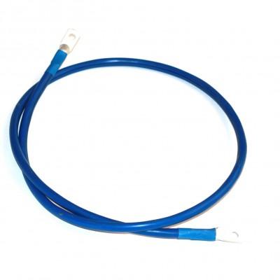 Перемычка аккумуляторная 1.4м,  35мм2, (синий аллюр)