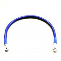 Перемычка аккумуляторная 0,5м,  50мм2, (синий аллюр)
