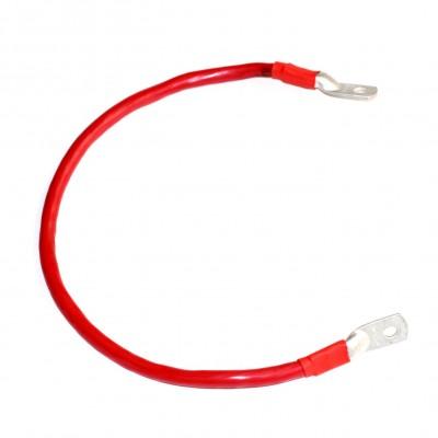 Перемычка аккумуляторная 0,7м,  50мм2, (красный аллюр)