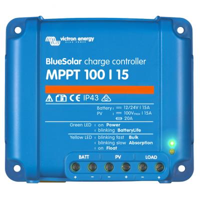 BlueSolar MPPT 100/15 (12/24V-15A) Контроллер MPPT Victron Energy