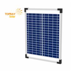 TPS-107S(36)-15W солнечный модуль поликристалл 15 Вт TOPRAY Solar