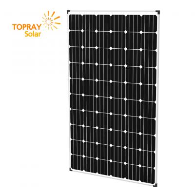 TPS-M6U(60)-280W TopRaySolar Монокристаллический солнечный модуль 280 Вт, 12/24В.