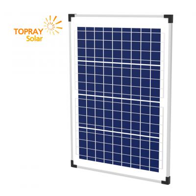 TPS-107S(36)-40W солнечный модуль поликристалл 40 Вт TOPRAY Solar