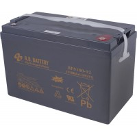 "BPS 100-12 (12В; 200 А*ч) Аккумулятор AGM ""B.B.Battery"""