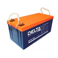 Delta GX12-200 (12В; 200А*ч) Гелевый аккумулятор