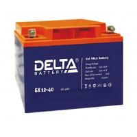 Delta GX12-40 (12В; 40А*ч) Гелевый аккумулятор