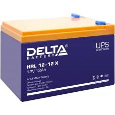 HRL 12-12 X (Delta) Аккумулятор 12В; 12 Ач, AGM