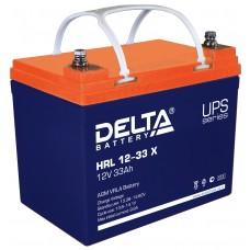 HRL 12-33 X (Delta) Аккумулятор 12В; 33 Ач, AGM