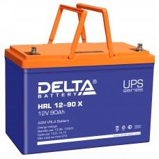 HRL 12-90 X (Delta) Аккумулятор 12В; 90 Ач, AGM