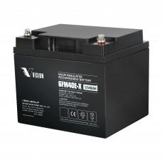 VISION  6FM40EX  (12В; 40 А*ч) Аккумулятор AGM