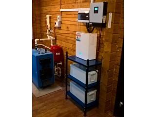 Резервное электроснабжение 3 кВА, 4кВт*ч