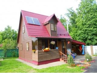 Солнечная станция на даче