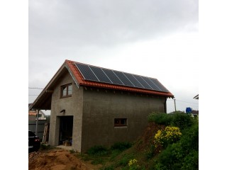 Гибридная солнечная электростанция 3 кВт