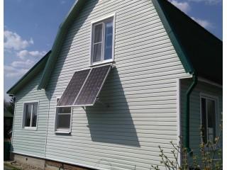 Комплект оборудования для солнечного электроснабжения дачи