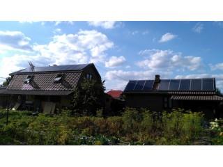 Сетевая солнечная станция в подмосковье