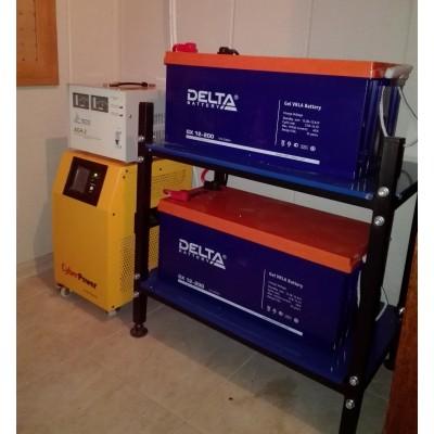 Бесперебойное электропитание загородного дома на базе Сyber Power CPS 3500 PRO