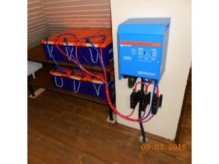Система резервного электроснабжения на базе инвертора Victron MultiPlus. Московская область