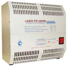 Lider PS1200W-50 Электронный стабилизатор 1,2КВА Точность 4,5%