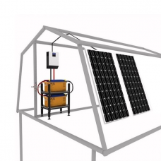 Солнечная Станция Мощность 1600 Вт Емкость 300А*ч Сол.батарея 2*200