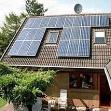 Сетевая солнечная электростанция Мощность 5кВт; Выработка 40кВт*ч