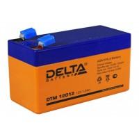 DTM 12012 (Delta АКБ) Аккумулятор AGM, 12В, 1.2 Ач