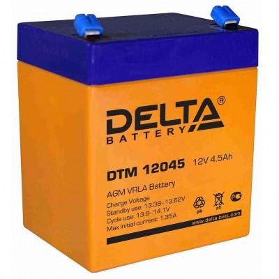 DTM 12045, AGM аккумулятор от Delta Battery