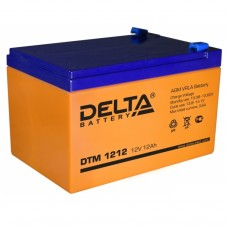 DTM 1212 (Delta АКБ) Аккумулятор AGM (12В; 12Ач)
