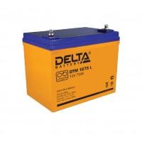 DTM 1275L (Delta) Аккумулятор AGM (12В; 75 Ач)
