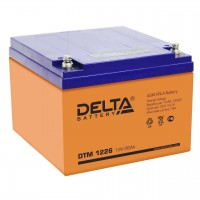 DTM 1226 (Delta АКБ) Аккумулятор AGM (12В; 26 Ач)