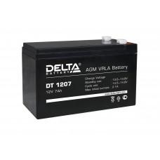DT 1207 (Delta) Аккумулятор 12В; 7 Ач, AGM