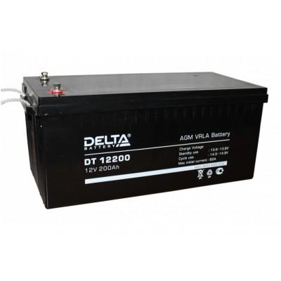 Delta DT 12200, AGM аккумулятор