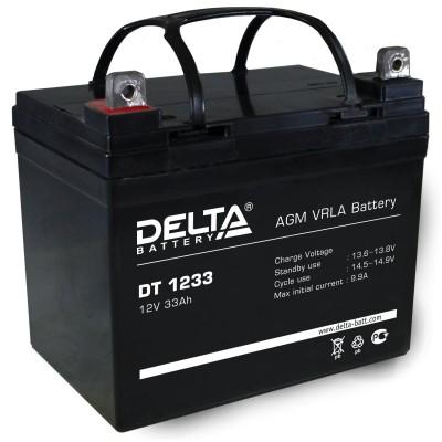 Delta DT 1233, AGM аккумулятор