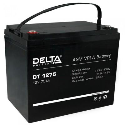 Delta DT 1275, AGM аккумулятор