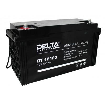 Delta DT 12120, AGM аккумулятор
