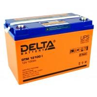 DTM 12100 I (Delta) AGM аккумулятор (12В; 100А*ч) с цифровым дисплеем