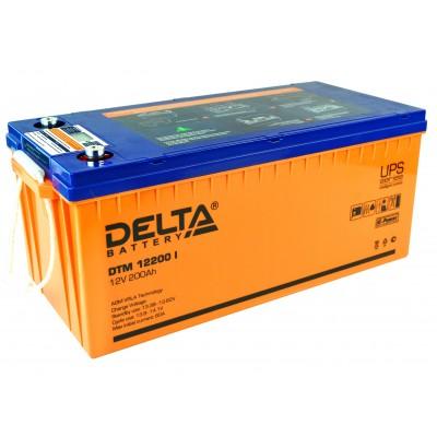 DTM 12200 I, AGM аккумулятор с цифровым дисплеем