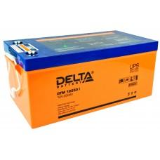 DTM 12250 I (Delta) AGM аккумулятор (12В; 250А*ч) с цифровым дисплеем