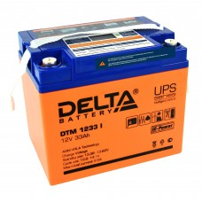 DTM 1233 I (Delta) AGM аккумулятор (12 В; 33 А*ч) с цифровым дисплеем