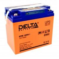 DTM 1255 I (Delta) AGM аккумулятор (12 В; 55 А*ч) с цифровым дисплеем