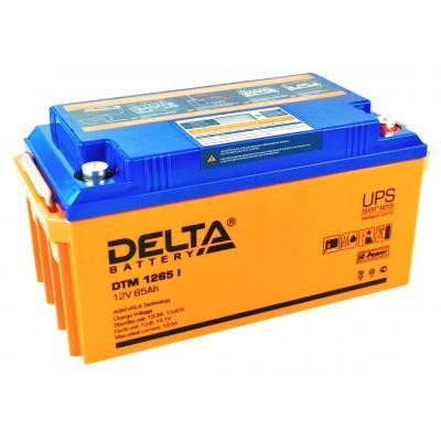 DTM 1265 I, AGM аккумулятор с цифровым дисплеем
