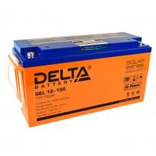 Delta GEL12-150  Аккумулятор гелевый (12В; 150А*ч)