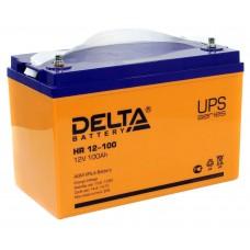 HR 12-100 (Delta) Аккумулятор 12В; 100 Ач, AGM